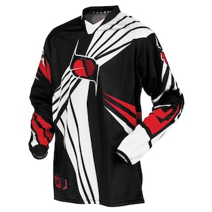 MSR Nxt Jersey (Color: Black / Size: LG)