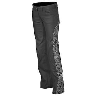 Teknic Women's Vogue Leather Pants