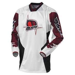 MSR Renegade Jersey (Color: White / Size: 2XL)