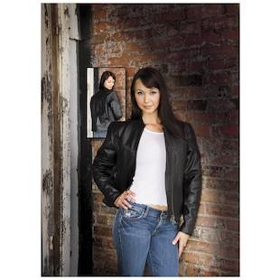 River Road Women's Trenza Leather Jacket