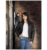 River Road Women's Trenza Leather Jacket