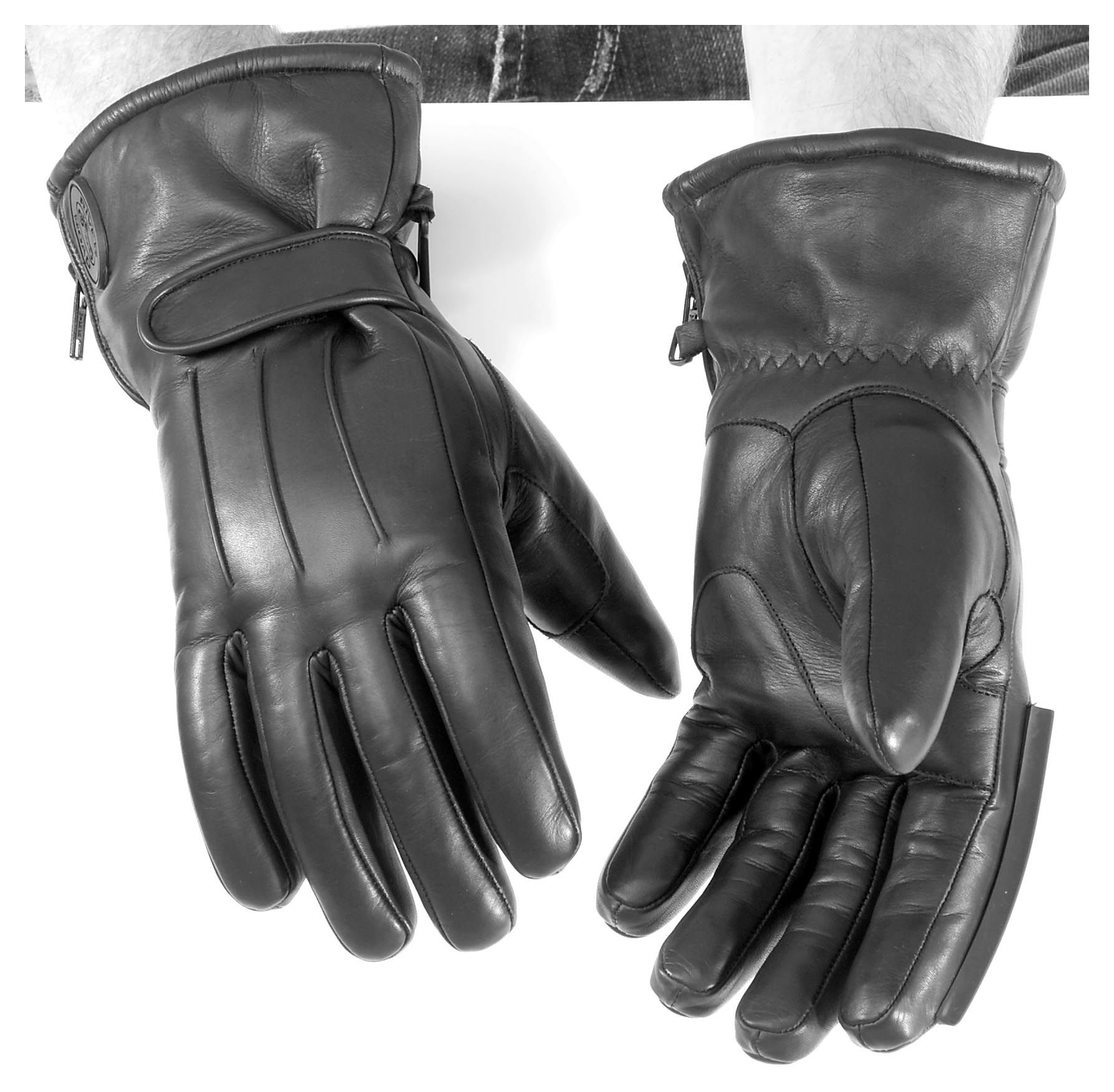 Triumph motorcycle leather gloves - Triumph Motorcycle Leather Gloves 41