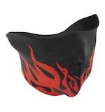 Zan's Flames Neoprene Half Mask