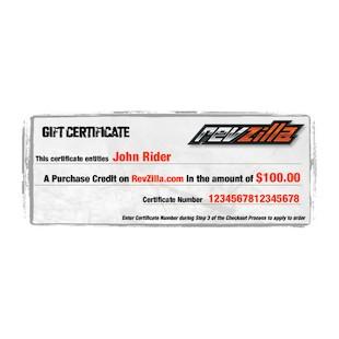 RevZilla.com eGift Certificate