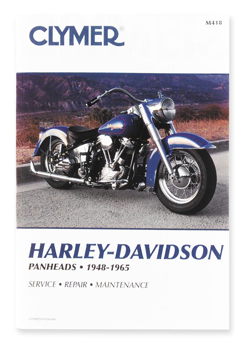Clymer Manual Harley-Davidson Panheads 1948-1965   10% ($3.70) Off! -  RevZilla
