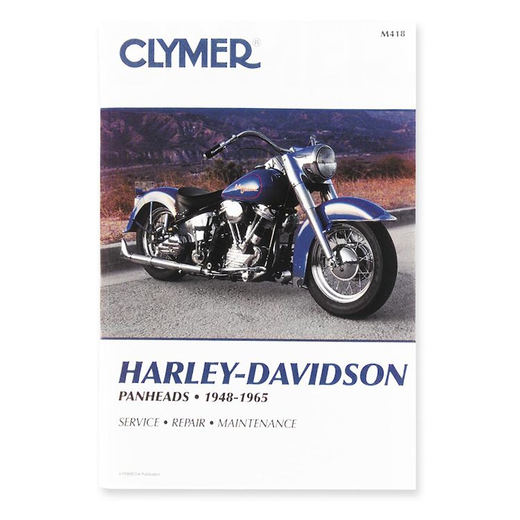 Clymer Manual Harley-Davidson Panheads 1948-1965