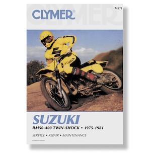 Clymer Manual Suzuki RM50 - 400 Twin Shock 75-81