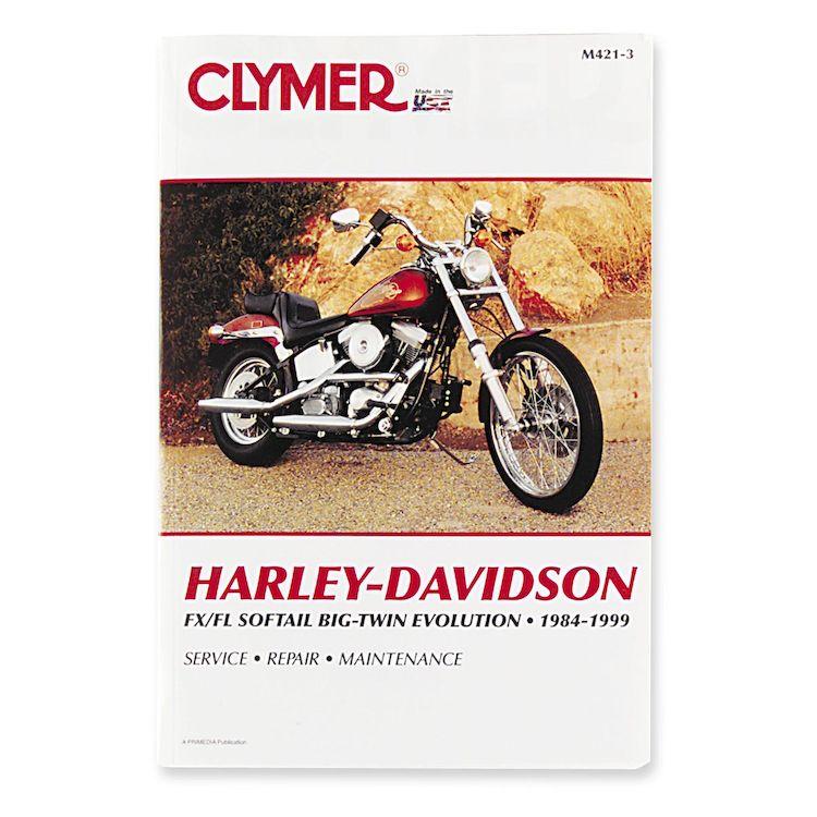 Clymer Manual Harley-Davidson FLS / FXS Evolution 1984-1999