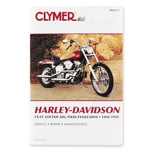 Clymer Manual Harley-Davidson FLS / FXS Evolution 1984-1999