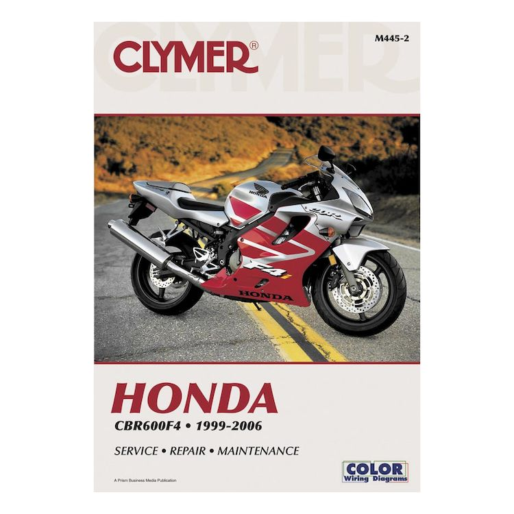 Clymer Manual Honda CBR600F4 1999-2006