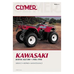 Clymer Manual Kawasaki ATV KLF220/250 88-10