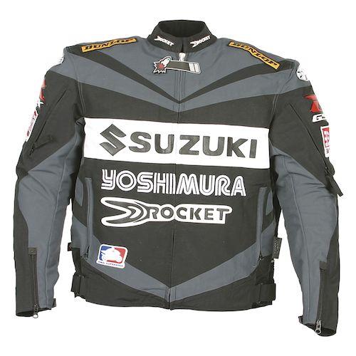 Suzuki Gsxr Textile Riding Jacket
