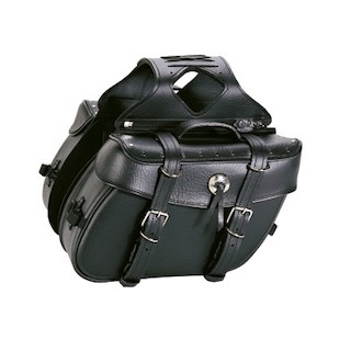 Tour Master Cruiser II Slant Saddlebag w/Rivets
