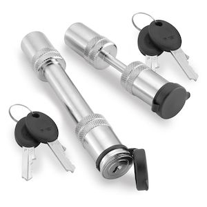 Bully Locks Hardened Steel Trailer Hitch Lock Set