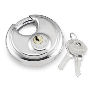 Bully Locks Stainless Round Padlock