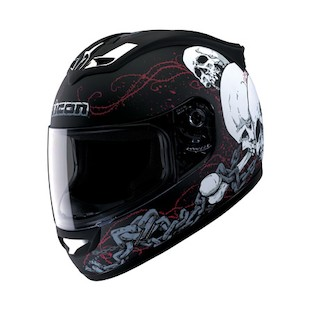 Icon Mainframe Skull Helmet