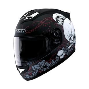 Icon Mainframe Skull Helmet