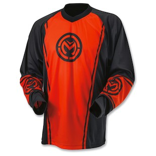 Moose Qualifier Jersey (Color: Red / Size: 2XL)