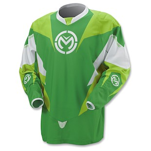 Moose XCR Jersey (Color: Lime / Size: XL)
