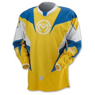 Moose XCR Jersey (Color: Canary / Size: LG)