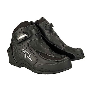 Alpinestars S MX 1 Riding Shoes Black detail?1235161007