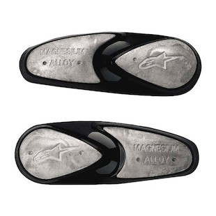 Alpinestars Replacement Magnesium Toe Slider Set