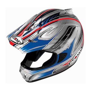 Suomy Spectre Helmet (Color: Blue / Size: MD)