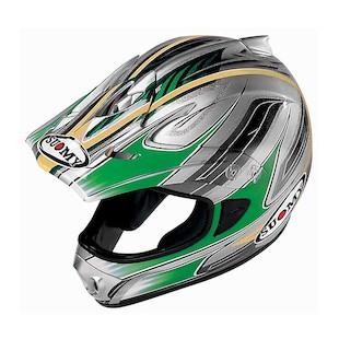 Suomy Spectre Helmet (Color: Green / Size: LG)