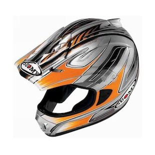 Suomy Spectre Helmet (Color: Orange / Size: MD)