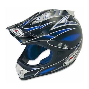 Suomy Spectre Helmet (Color: Matte Blue / Size: XL)