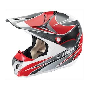 Thor Force Helmet (Color: Black/Red / Size: SM)