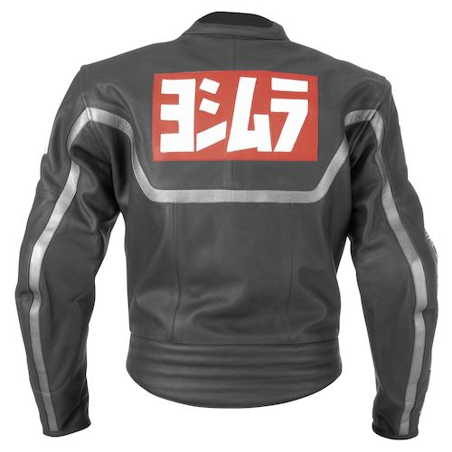 Yoshimura 80s Leather Jacket Black zoom