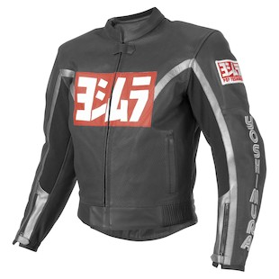 Yoshimura 80s Leather Jacket Black detail