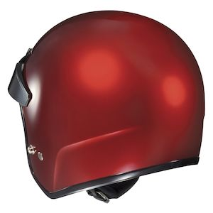 HJC Adult CS-2N Solid Flat Black Half Motorcycle Cruiser Helmet DOT