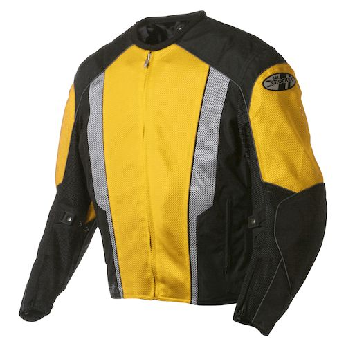 Joe Rocket Yamaha Jacket Yellow