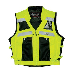 Olympia Nova Hi Vis Mesh Tech Safety Vest