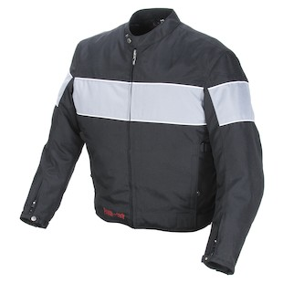 Power Trip Jet Black II Textile Jacket