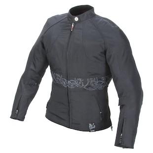 Power Trip Women's Jet Black II Textile Jacket