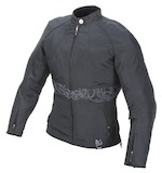 Power Trip Women's Jet Black II Textile Jacket