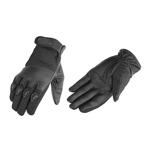 River Road Mystic Leather Mesh Gloves