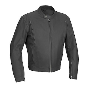 River Road Alloy Matte Leather Jacket