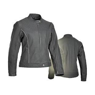 River Road Women's Pearl Perforated Leather Jacket