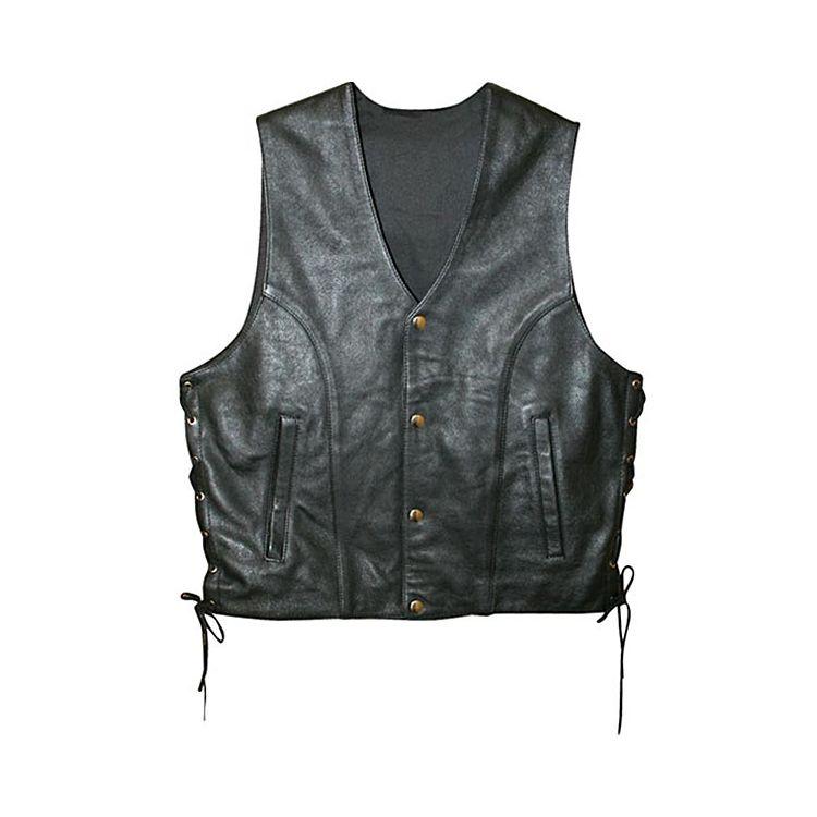 Power Trip Powerglide Leather Vest