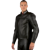 Dainese SF Leather Jacket - Black/Black