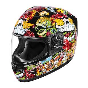 Icon Alliance SSR Dia De Los Muertos Helmet