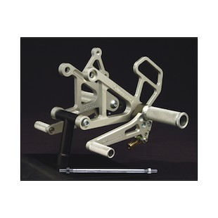 Woodcraft Suzuki TL1000R All Years Complete Rearset Kit