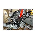 Woodcraft Complete Rearset Kit Ducati Hypermotard