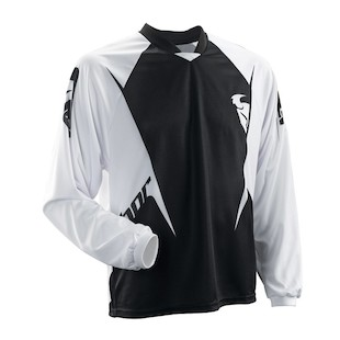 Thor Motocross Static Jersey (Color: Black / Size: XL)