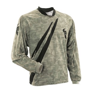 Thor Motocross Static Jersey (Color: Raven / Size: XL)