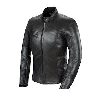 Power Trip Women's Scarlet Leather Jacket
